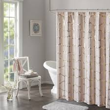 Intelligent Design Khloe Geometric Metallic Printed Shower Curtain 3 Color  Option - Free Shipping Today - Overstock.com - 23394858