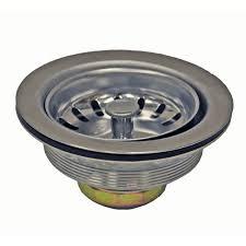 McAlpine Stainless Steel Strainer Plug  Plumbers Mate LtdStainless Steel Kitchen Sink Basket Strainer