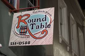 the round table a popular bar and venue on the square hosts the ole miss chi omega s first swap of the year with the sigma nu s