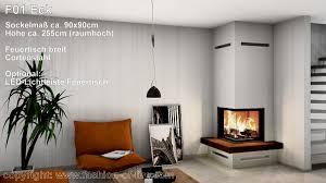 Fashion Of Fire F01 Mit Brunner Eckkamin Und Schiebetür