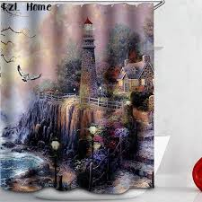 gorgeous lighthouse shower curtains and popular lighthouse shower curtain lighthouse shower