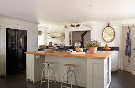 Kitchen Ideas Rectangle White Country Kitchen Island With Open