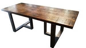 custom made brooklyn modern rustic reclaimed wood dining table by brooklyn modern rustic reclaimed wood