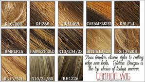 Raquel Welch Wigs Color Chart Sebastian Hair Color Chart 431891 Cellophane Hair Dye Colors