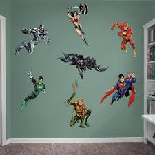 justice league the new 52 giant officially licensed dc removable wall graphic fathead