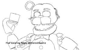 Freddy Coloring Pages Inspirational Fnaf Coloring Pages Withered