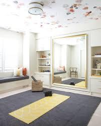 yoga meditation & bedroom in one (murphy bed behind mirror) Credit:  corea-sotropa