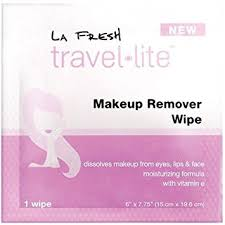 la fresh travel lite makeup remover wipes on 6 count