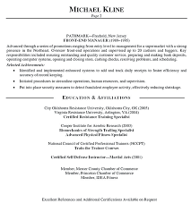 Resume With References Personal Trainer Resume Template Certified Personal Trainer Resume ...