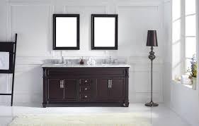 virtu usa victoria  double bathroom vanity set in espresso