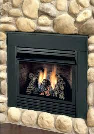 home depot gas fireplace logs place log sets vented ventless