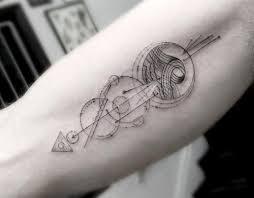 Galerie úžasná Geometrická Tetování Loupakcz