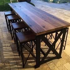 outdoor bar table round designs exclusive countertop bars back yard round outdoor tiki bar area