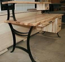 custom made office desks. Custom Office Desk Medium Size Of Wood Designs Hardwood Furniture Wooden Computer Made Desks