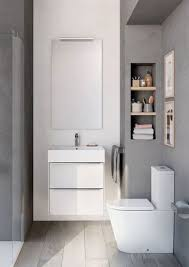 Attractive Inspira Wall Hung White Gloss Base Unit, Inspira Square Wall Hung Basin,