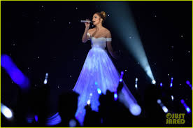 Feel The Light Jennifer Lopez Dons Biggest Princess Dress Ever During Feel