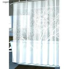 hookless shower curtain extra long extra long shower curtain with snap liner extra long shower curtain