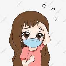 Hình ảnh Cô Gái Chibi Dễ Thương Cảm Thấy ốm Và đeo Khẩu Trang Y Tế để Bảo  Vệ Minh Họa, Con Gái, Chibi, Dễ Thương miễn phí tải tập tin PNG