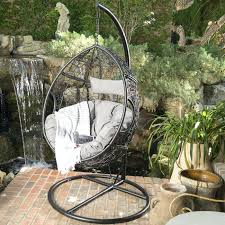 wicker swing chair with stand outdoor basket swing chair with stand moorea wicker swing chair with