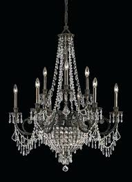wrought iron and crystal chandeliers wrought iron crystal chandelier white wrought iron crystal chandelier lighting