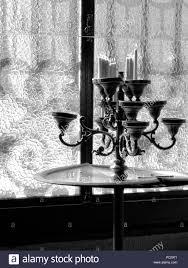 Schwarz Weiß Foto Von Alten Kronleuchter Aus Europäischer