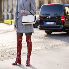 Asos Design Kassidy Heeled Thigh High Boots Best Thigh High Boots Black Suede And Over The Knee Glamour