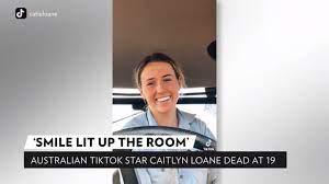 Rising TikTok Star Caitlyn Loane Dead ...