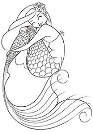 Mermaid Coloring Pages To Print At Getdrawingscom Free For