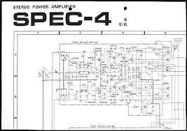pioneer spec 4 original stereo power amplifier wiring diagram pioneer spec 4 original stereo power amplifier wiring diagram schematic diagram