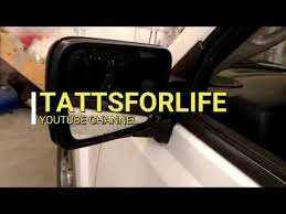 jeep commander mirror glass removal and