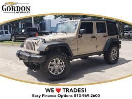 2018 sand jeep wrangler unlimited rubicon 4x4 4 door suv automatic 3 6l v6 24v vvt