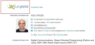 Digital Communications Resume You Dont Need The Europass Cv To Get A Job At European Tech Company