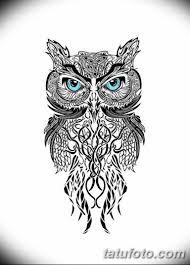 эскизы тату сова мужские 09032019 002 Tattoo Sketches