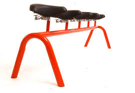 Bicycle Furniture For The Love Of Bikes Saddling Up Bike Seat Meets Furniture