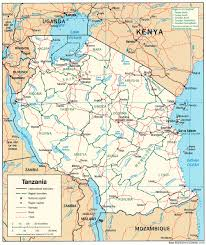 tanzania maps  perrycastañeda map collection  ut library online