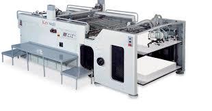 keywell automatic full or half turn cylinder printing machine