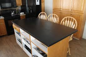 Diy Kitchen Countertops Diy Faux Soapstone Countertop Chris Loves Julia
