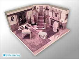 miniature addams family set boing boing addams family set