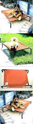 outdoor dog bed with canopy outdoor dog bed extra large beds full image for elevated pet outdoor dog bed