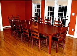 shaker style dining room table shaker style custom extension dining table with exotic maple top and