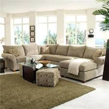 awesome living room furniture sets for small spaces brown wool area rug beige microfiber sectional