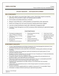 Project Manager Resume Template Best Of Software Project Manager