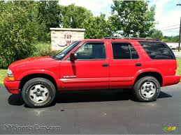 Blazer chevy blazer 2002 : 2002 Chevrolet Blazer LS 4x4 in Victory Red - 147389 ...