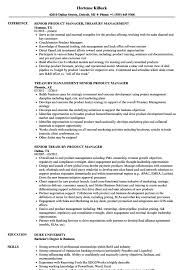 Product Manager Resume Sample Templates Product Manager Sample Jobescription Resume Stunning 78
