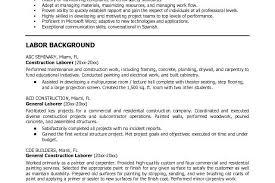 Microsoft Word Jk Construction Laborer Construction General Laborer