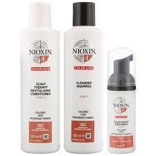<b>Nioxin</b> 3D Care System System <b>4</b>, 3 Part System Kit <b>For</b> Colored Hair