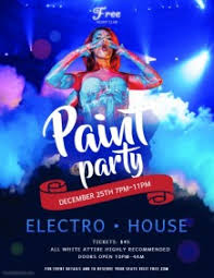 Create Free Party Flyers Online Customize 13 890 Party Flyer Templates Postermywall