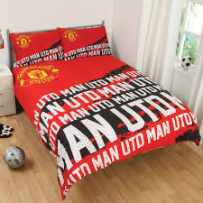 Manchester United Bedroom Manchester United Double Duvet Cover The Duvets