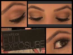 how to do a natural eyeshadow look smashbox full exposure tutorial you