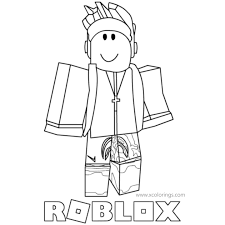 Though it originates from a foreign country, one that particularly ever had a hostile relationship with the state, ninja is received more than well in usa. Roblox Ninja Coloring Pages Printable Xcolorings Com